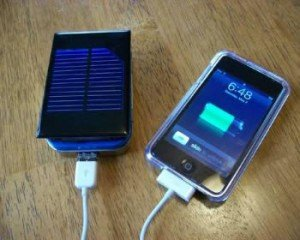 Solar Cell Charger Iphone