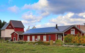 zonnepanelen ten boer