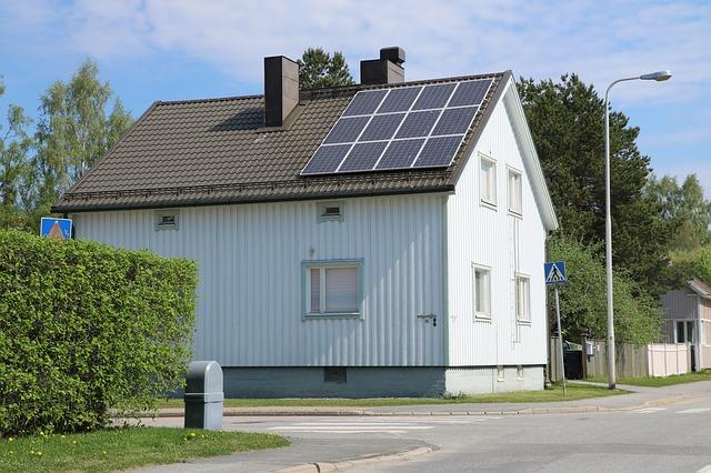 Zonnepanelen bij aankoop huis