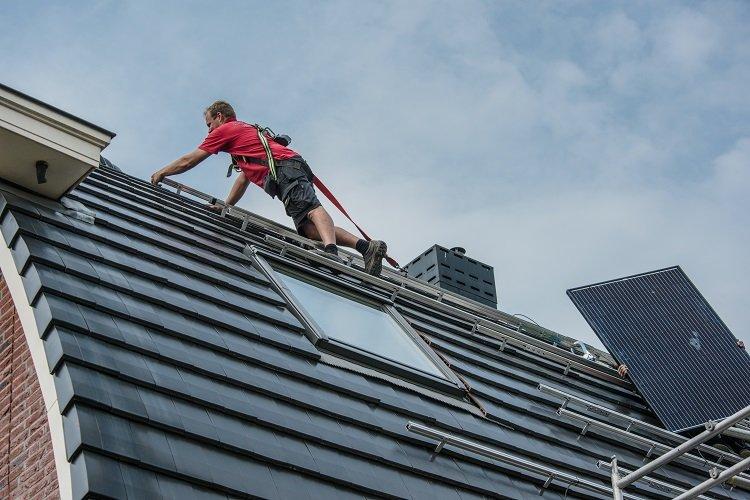 pv paneel op dak