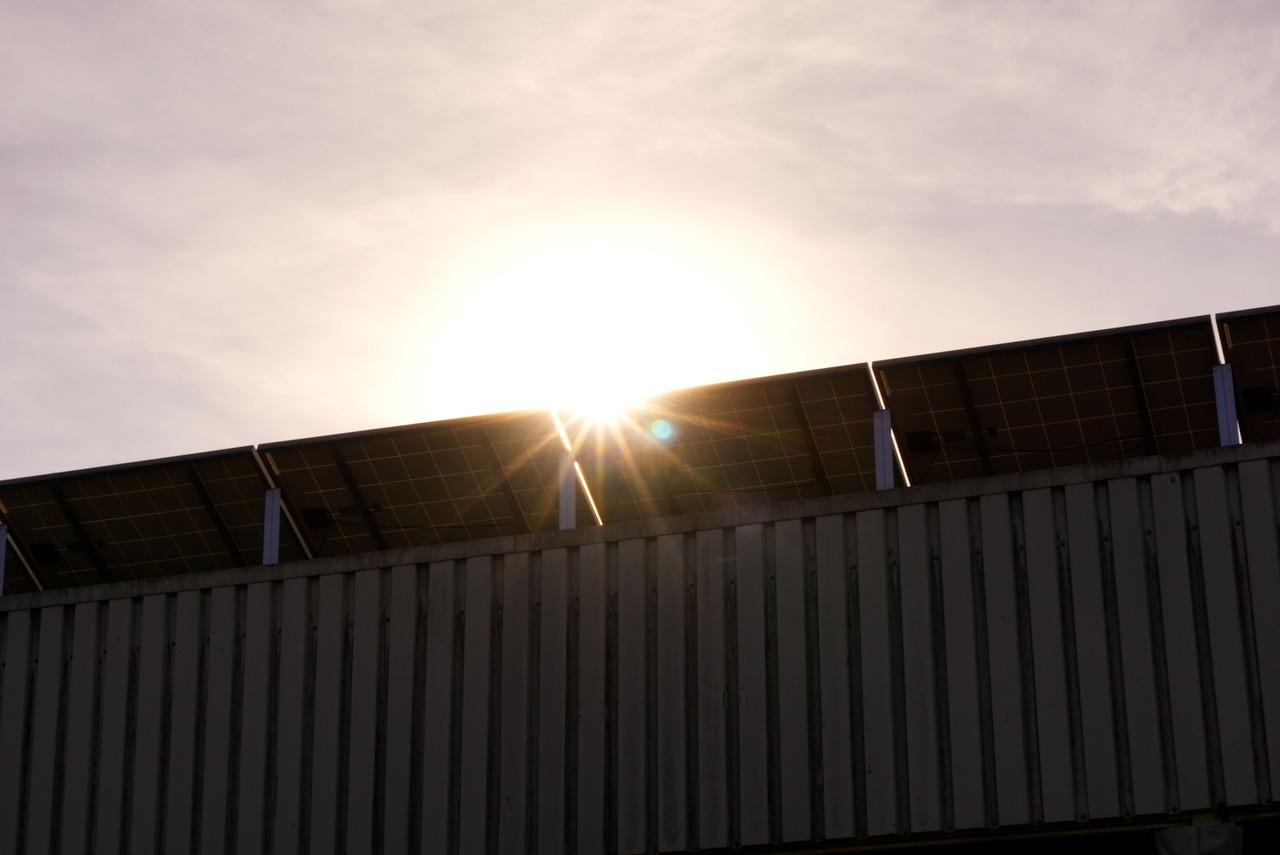 zonnepanelen schaduw