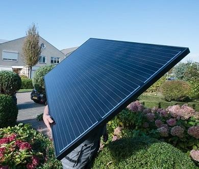 zonnepanelen kopen zwart