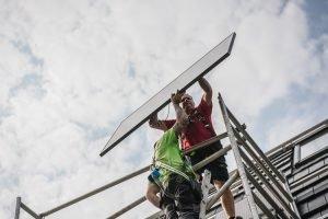 De beste zonnepanelen hoge segment (tier 1)